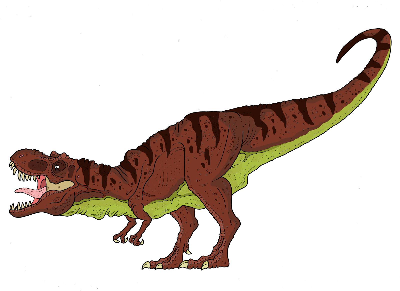 Jurassic Park (novel): Tyrannosaurus rex by ...
