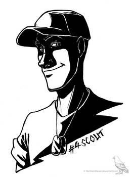 Inktober #04 Scout