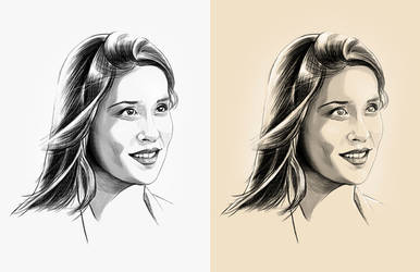 Denise portrait by PapaYeah