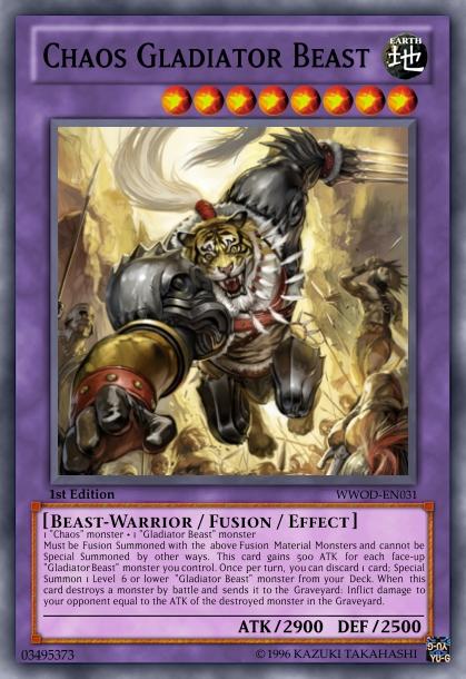 Chaos Gladiator Beast by LightKeybladeMaster on DeviantArt