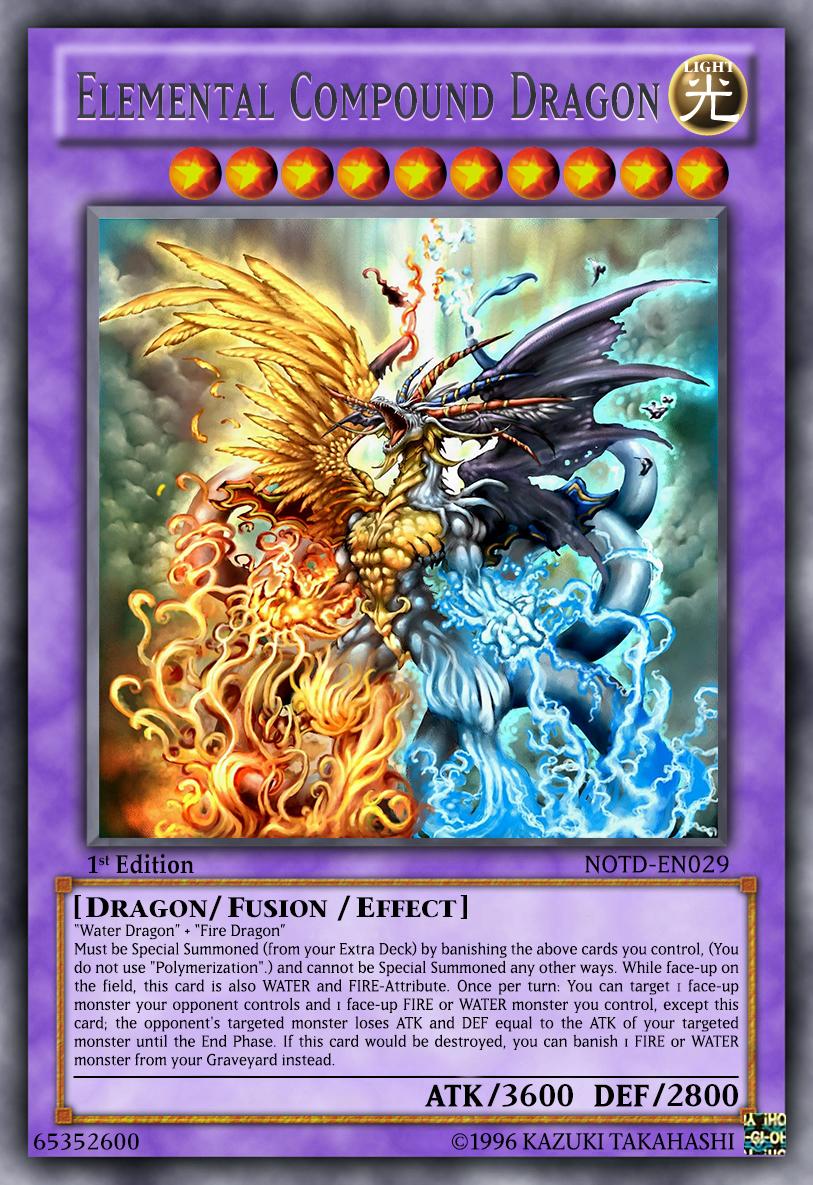 Yugioh Fan-Card favourites by Ared-Tekenshi on DeviantArt Element Dragon Yugioh
