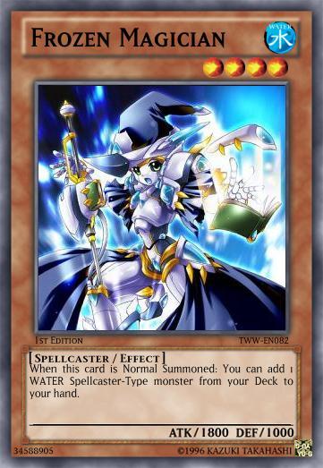 Frozen Magician By Lightkeyblademaster On Deviantart