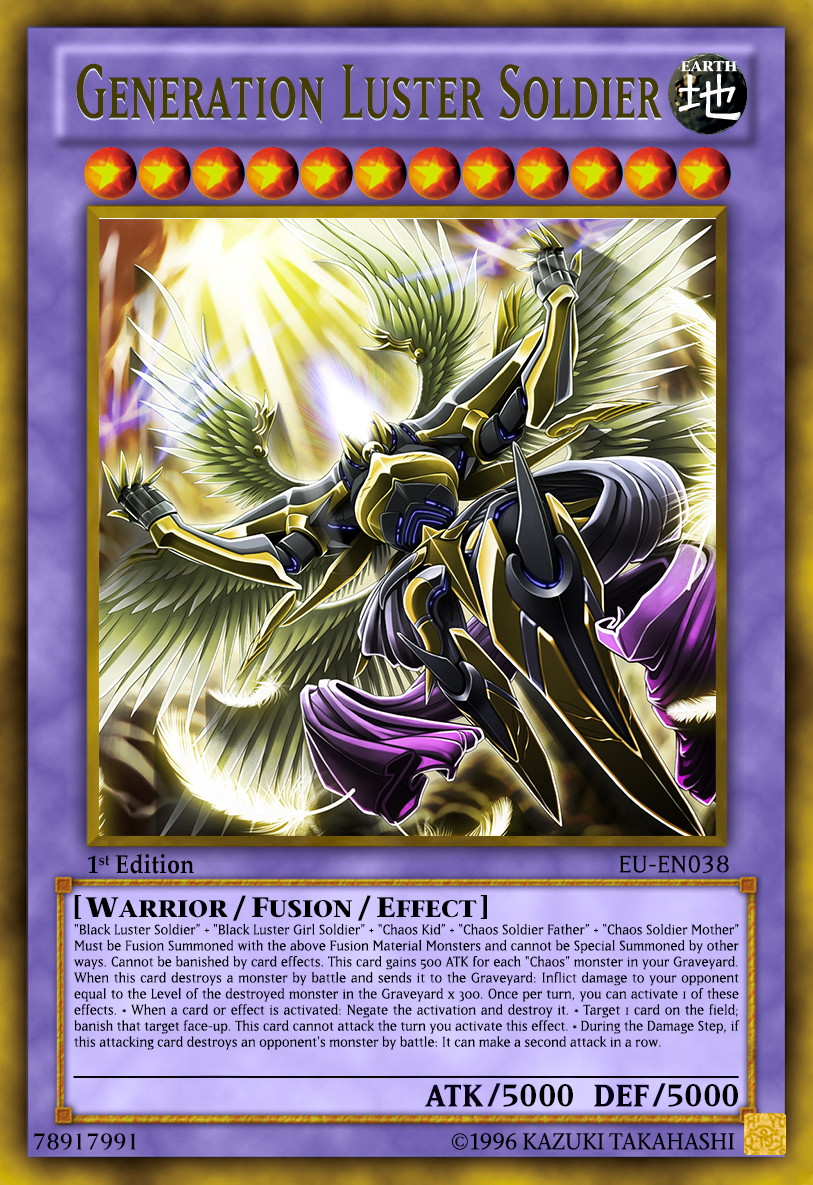 black luster soldier fusion gallery tube