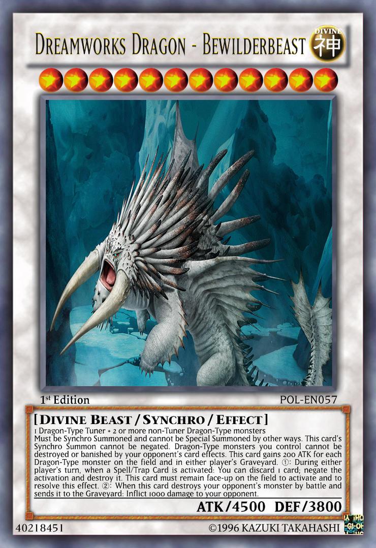 Dreamworks Dragon Bewilderbeast By Lightkeyblademaster