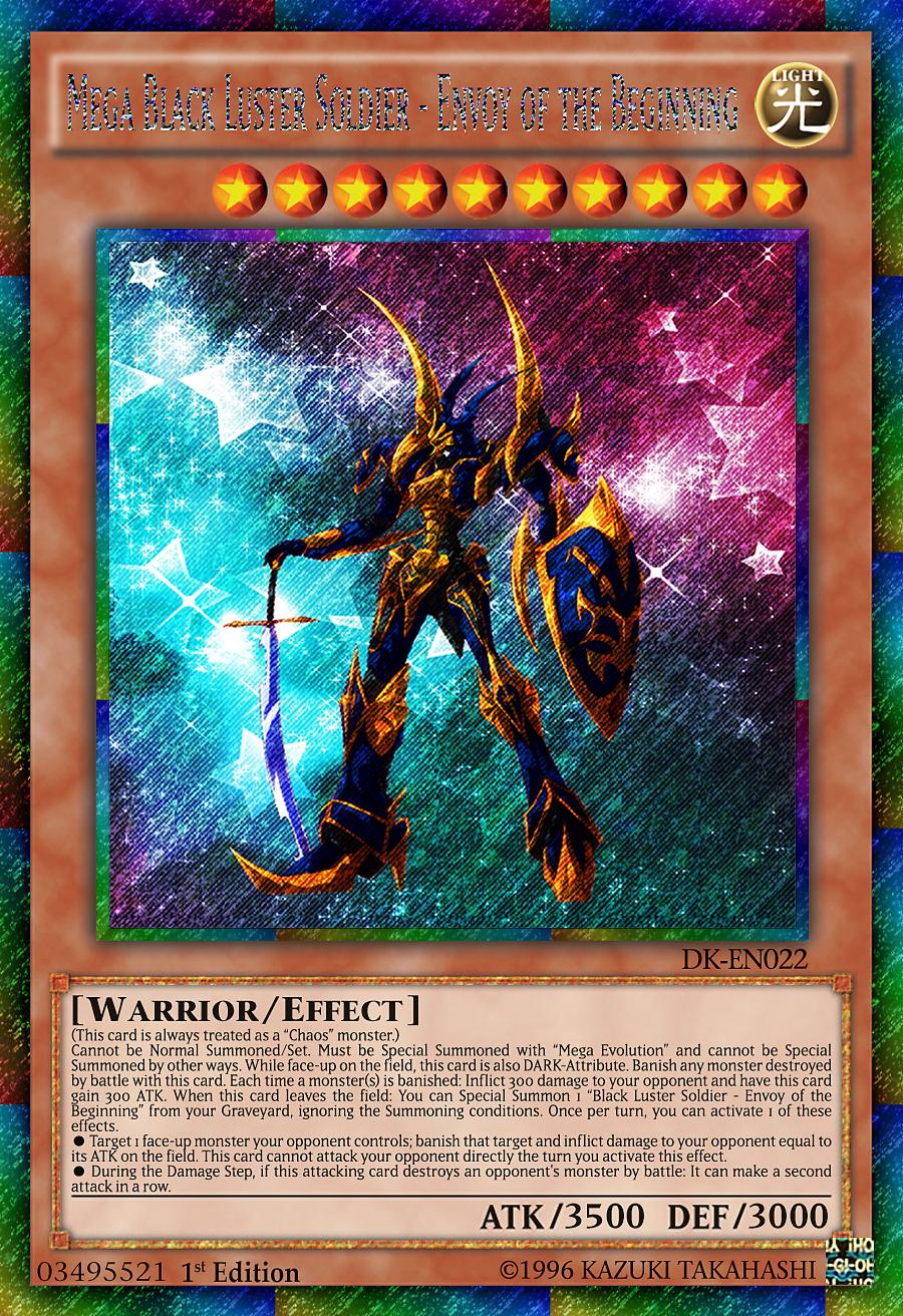 Black Luster Soldier Blue Eyes Ultimate Dragon