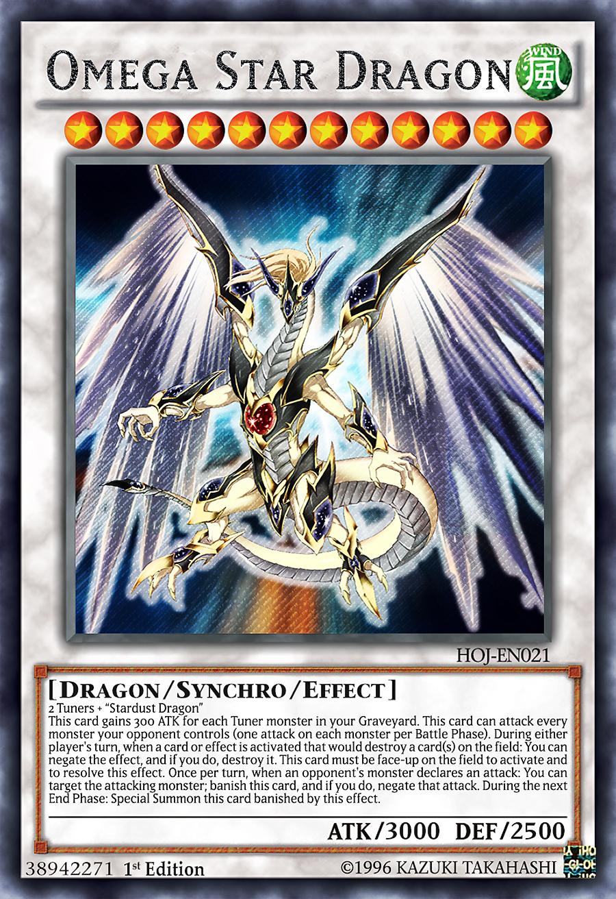 Obelisk The Tormentor Art Omega Star Dragon by L...