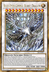 Blue-Eyes Cosmic Burst Dragon by ChaosTrevor