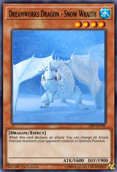 Dreamworks Dragon - Snow Wraith by ChaosTrevor