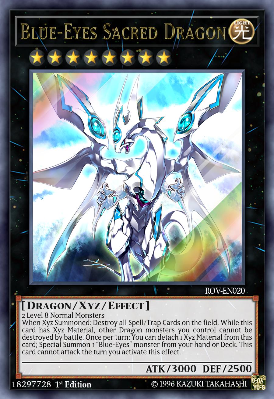 Blue-Eyes Sacred Dragon by ChaosTrevor