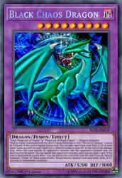 Black Chaos Dragon by ChaosTrevor