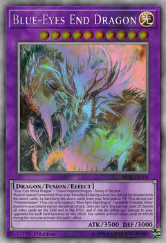 Blue-Eyes End Dragon