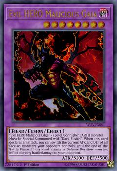 Evil HERO Malicious Gaia