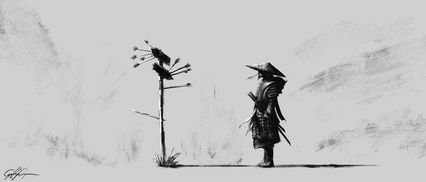 Lost Samurai by skyrace