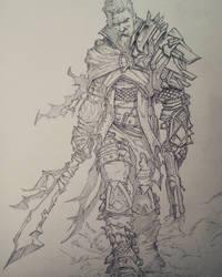 Warrior dude