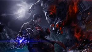 Demon Hunter Tesla by CKGoksoy