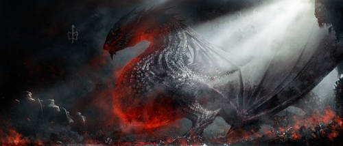 Enter Smaug by CKGoksoy