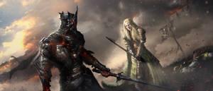 Shieldmaiden of Rohan by CKGoksoy