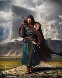 Lament For Boromir [portrait]