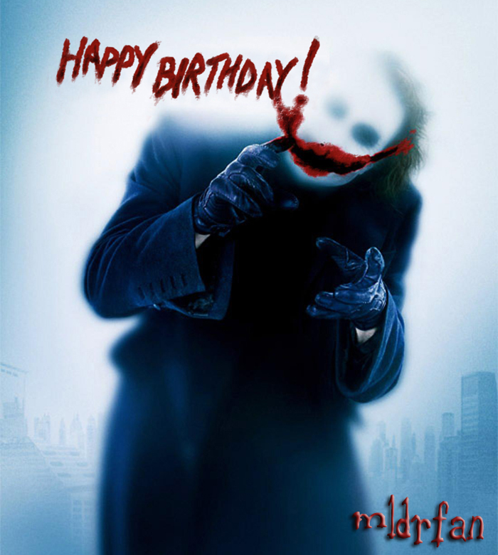 Happy birthday from the joker by mldrfan on deviantart happy birthday from the joker by mldrfan bookmarktalkfo Gallery