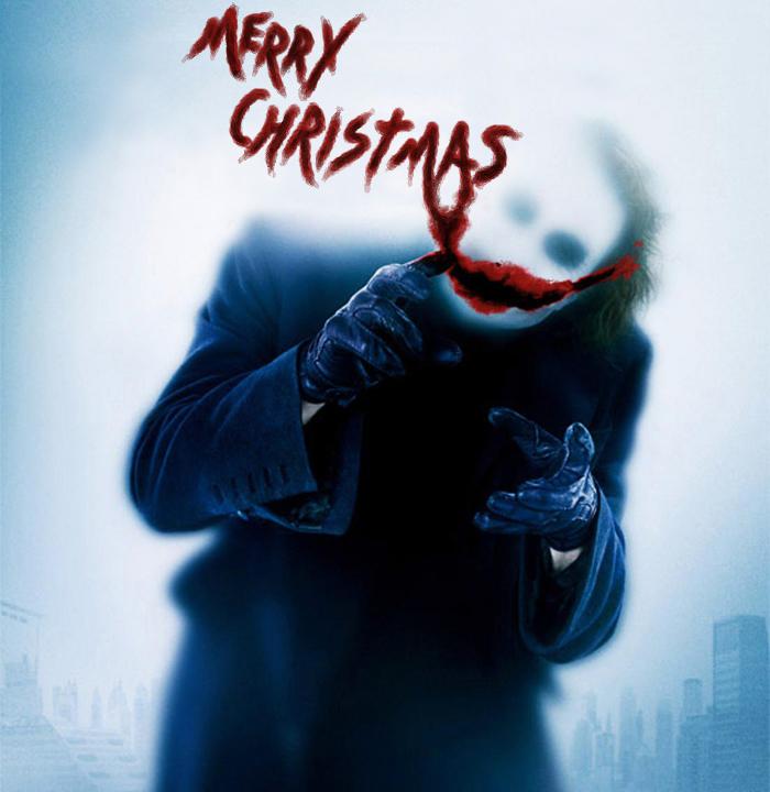 Merry Christmas From The Joker by mldrfan on DeviantArt