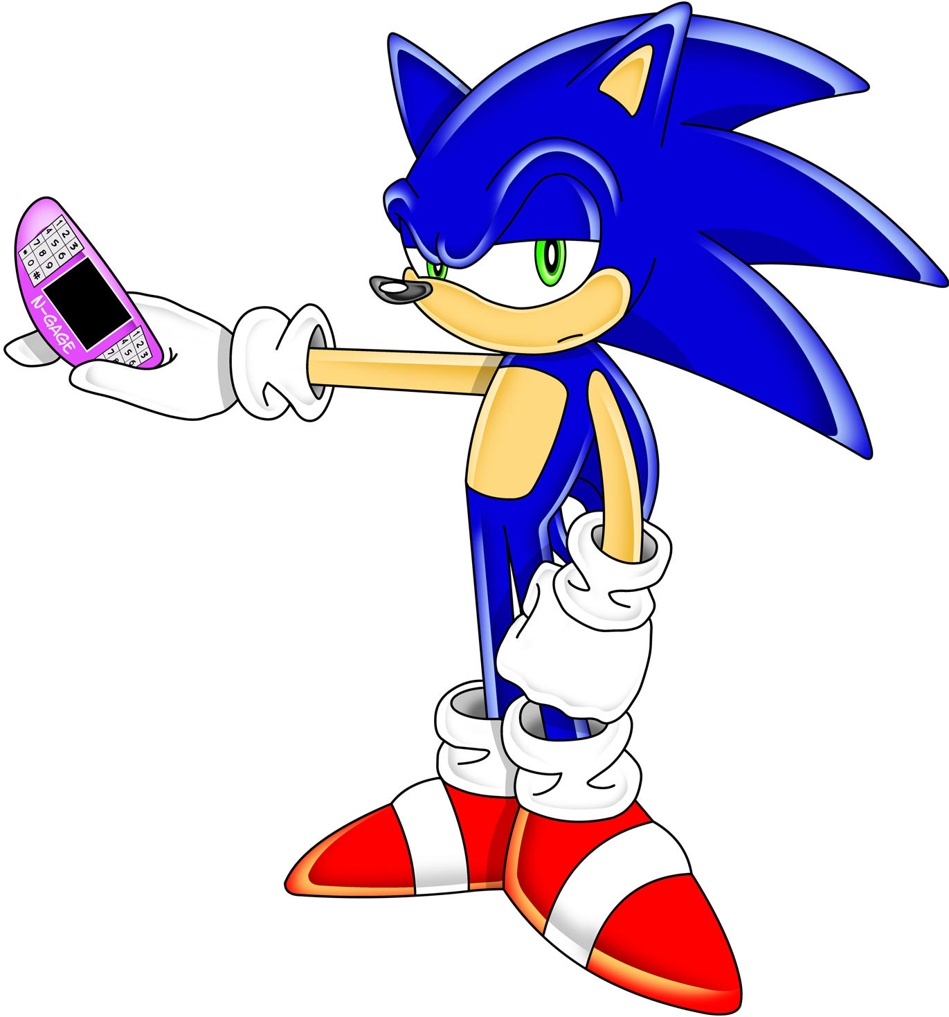 Sonic N-Gage by TheStiv