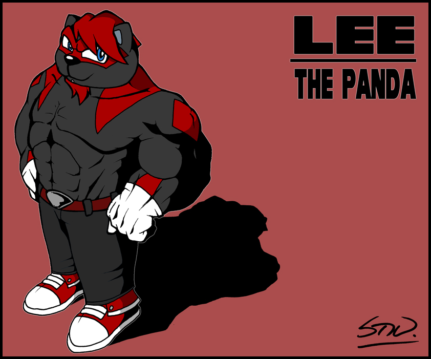 Lee the Panda by TheStiv