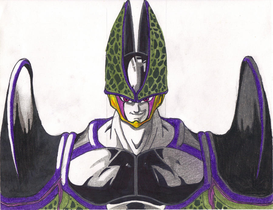 Ultimate Super Perfect Cell by DBZ2010 on DeviantArt