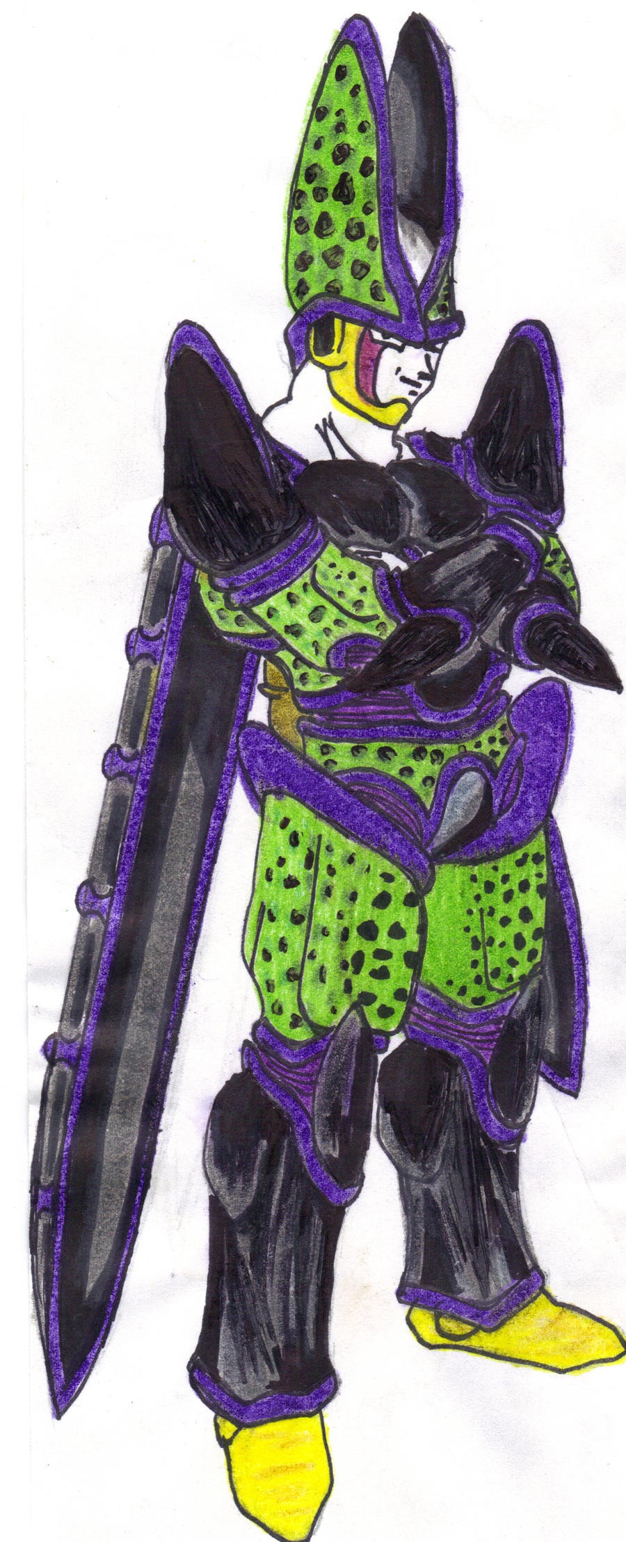 UltimateSuperPerfectCell Form by DBZ2010 on DeviantArt