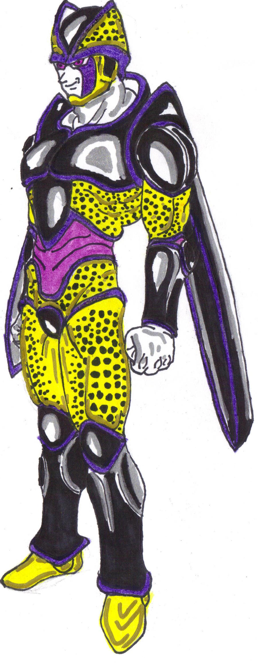 Perfect Cell's Final Form by DBZ2010 on DeviantArt
