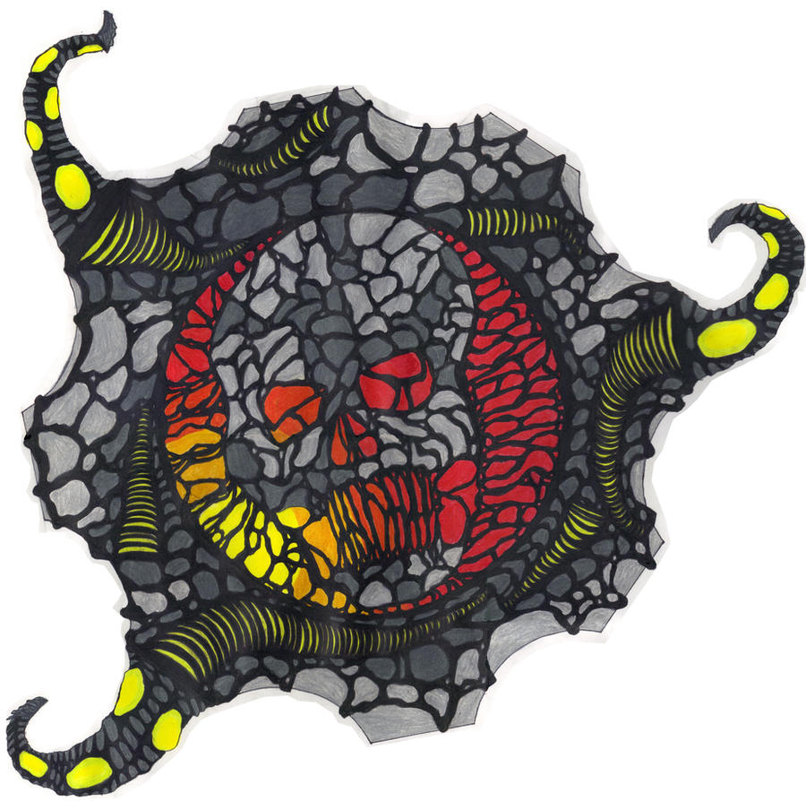 Worms Skull by DBZ2010