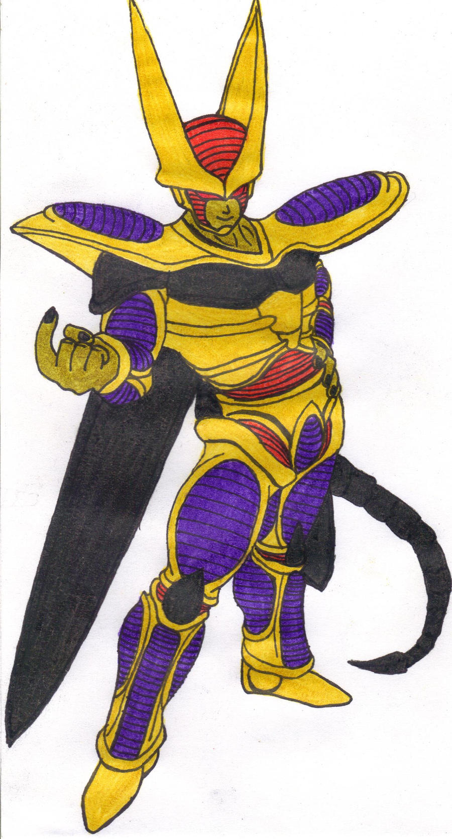 Hirudegarn Cell Costume 2 by DBZ2010