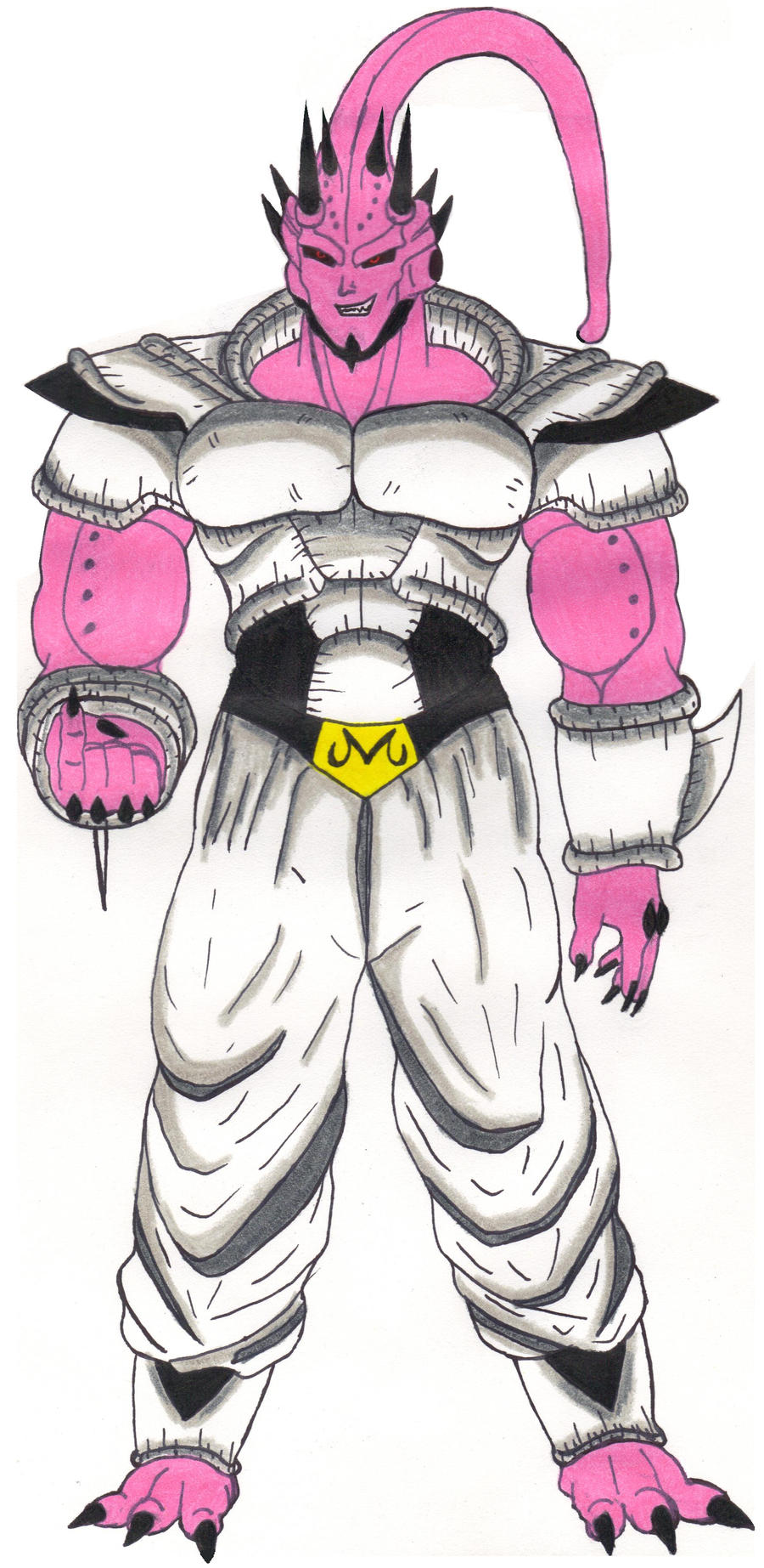 Super Buu _Henlong Absorbed by DBZ2010
