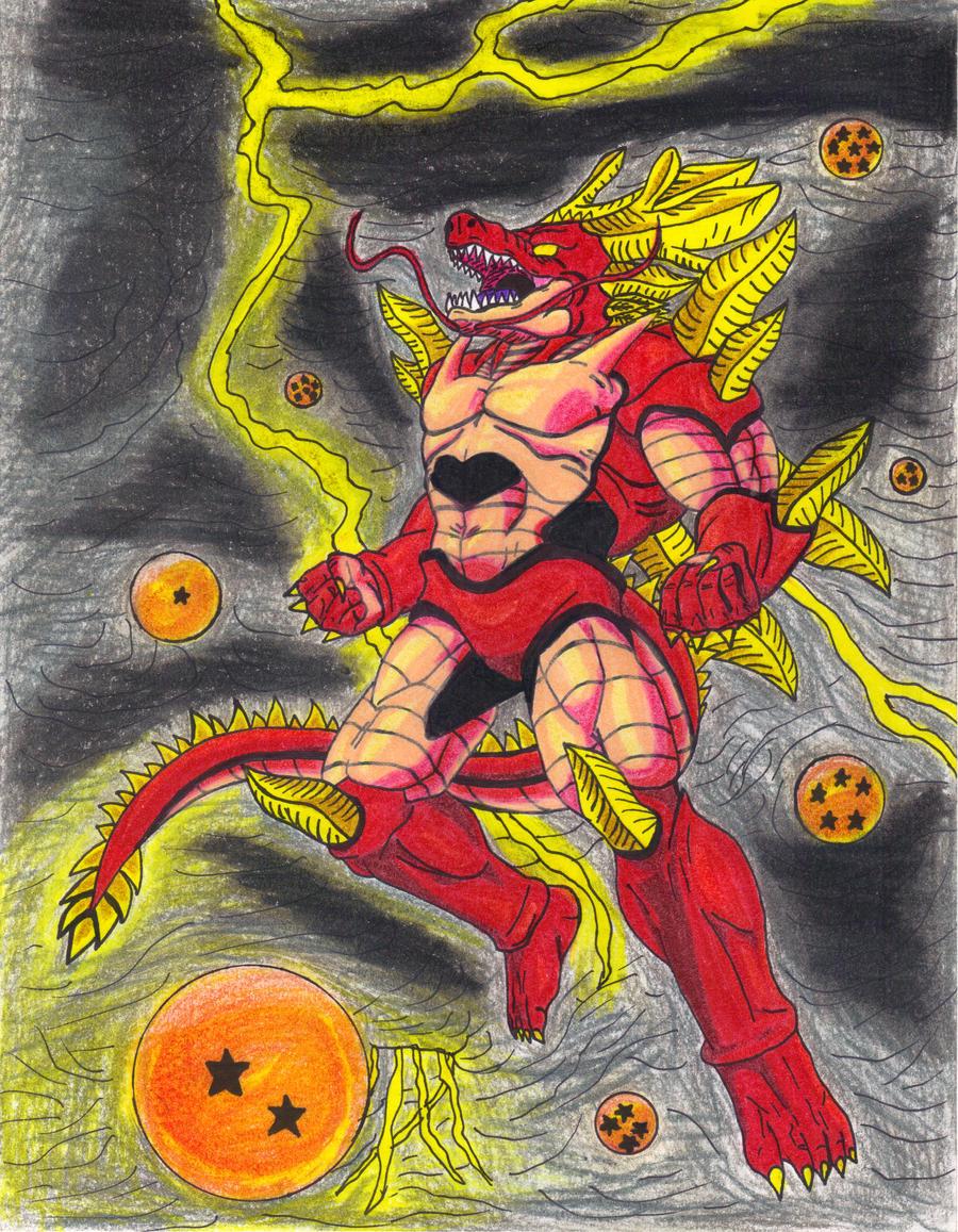 Ultimate Black Star Shenron the Manifest Dragon by DBZ2010