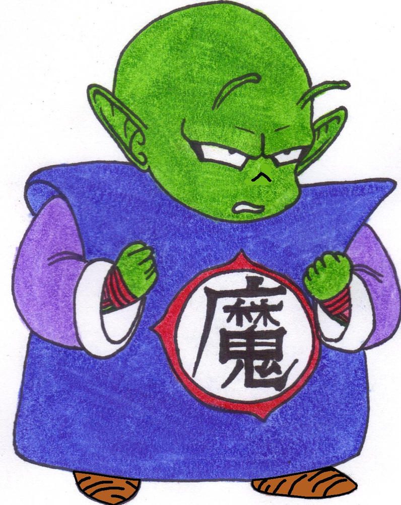 Kid Piccolo Jr. by DBZ2010