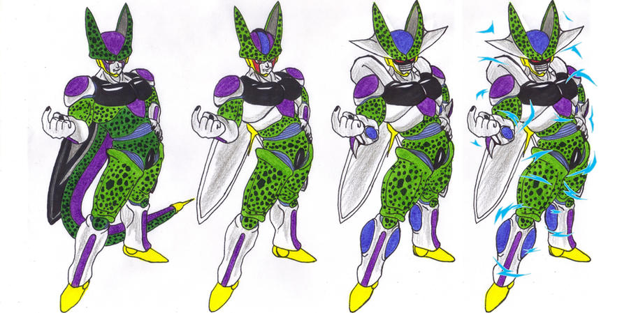Cell (Frieza Absorbed and Cooler Absorbed) by DBZ2010 on ...