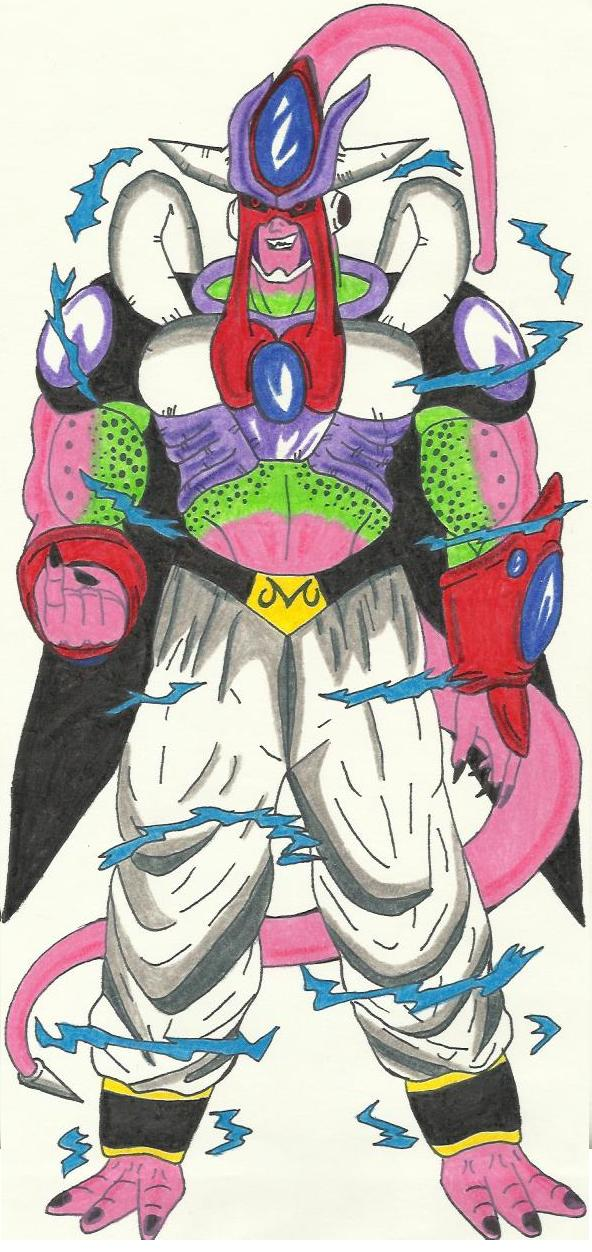 Ultimate Buu Mix Absorbed By Dbz2010 On Deviantart