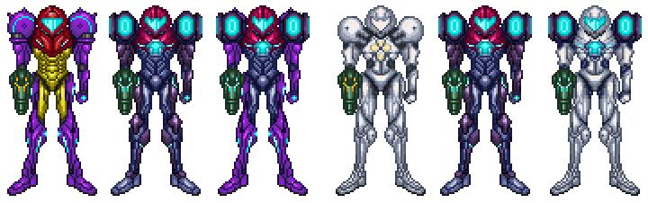 metroid prime trilogy fusion new suits by dbz2010 on deviantart