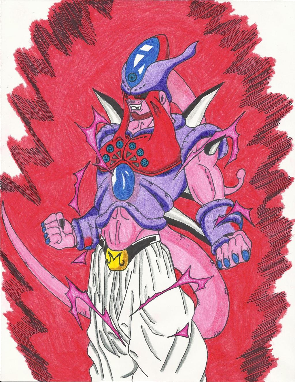 Omega Shenron Vs Kid Buu Ultimate Omega ...