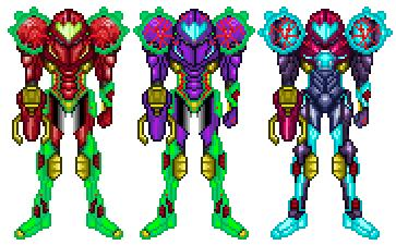new omega metroid suits by dbz2010 on deviantart