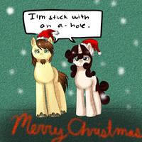 Merry Christmas by SketchyTheUnicorn