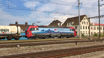 Siemens Vectron SBB cargo by mtristepin