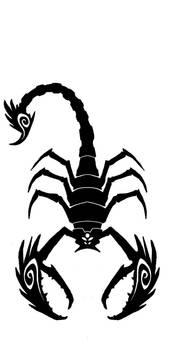 Scorpion tattoo 1