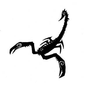 Scorpion tattoo 3
