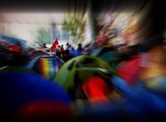 Gezi Park Solidarity by yasarsam
