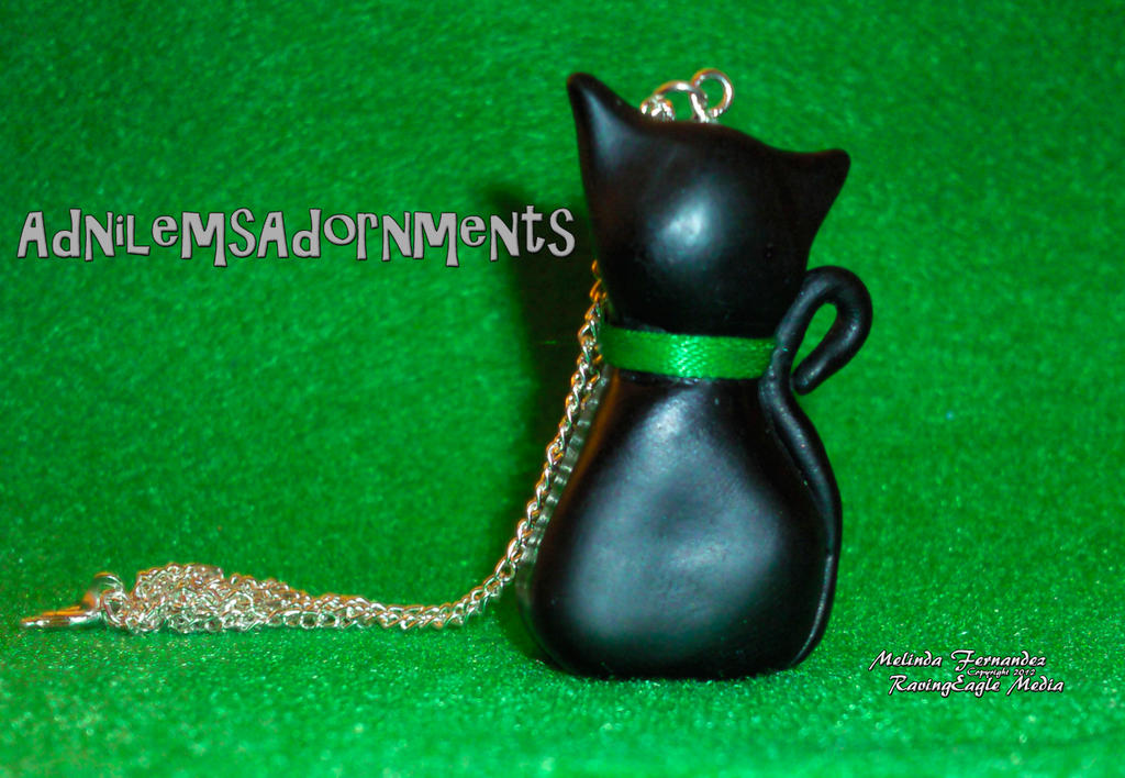 Black Cat Charm by RavingEagleMedia