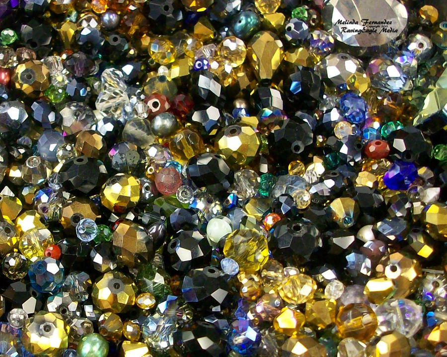 Fired Glass Beads by RavingEagleMedia
