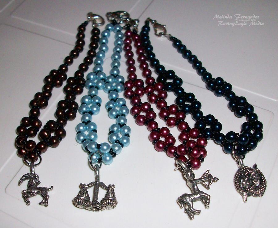 Western Zodiac Bracelets by RavingEagleMedia