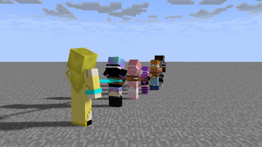 With many captive team 03 by MCtiedWTF