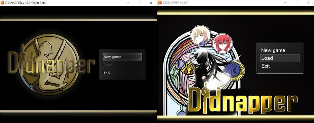 Didnapper 1.7.2 And 1.6.4 (Menu Screen) by MCtiedWTF
