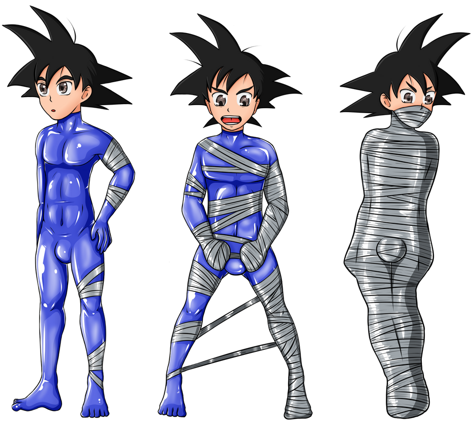 Gift Wrapped Goten by KurtType5